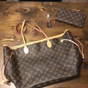 Louis Vuitton (COPY) purse and matching wallet